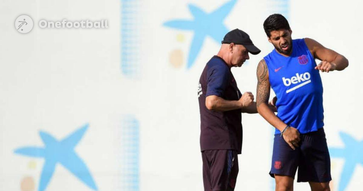 """ Suarez-Interview: """"Endlich wieder Training mit den Kollegen"""""""