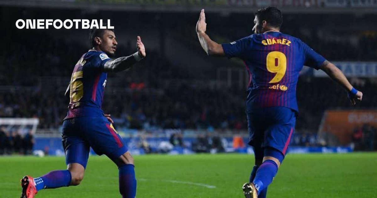 Barcelona Gegen Real Sociedad