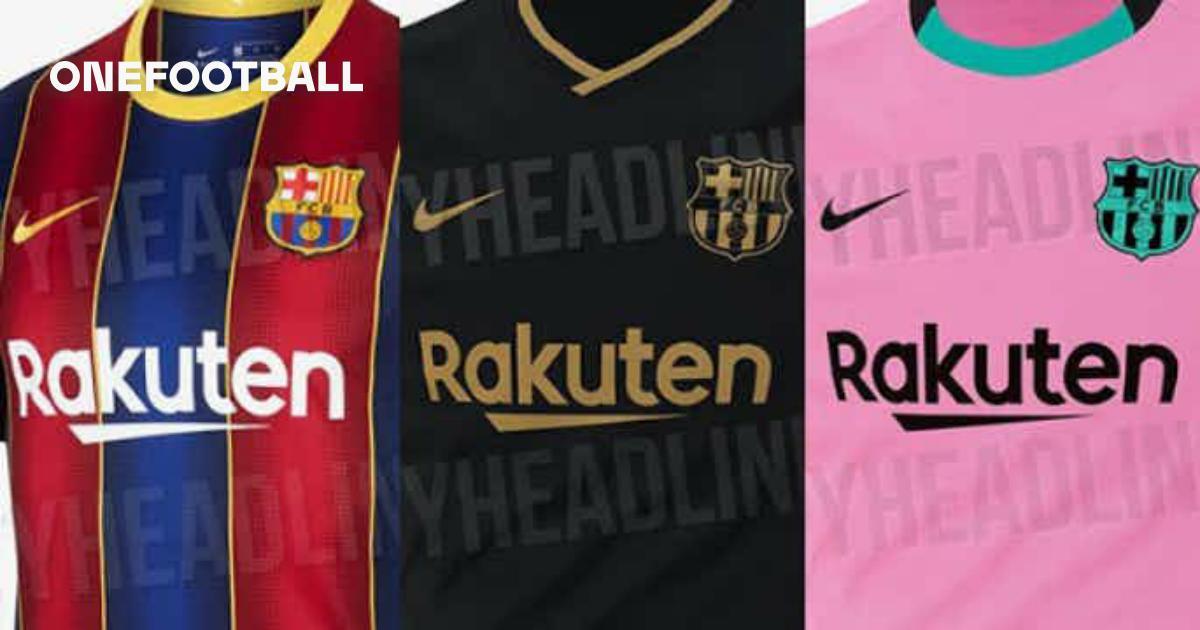 Fc Barcelona S 2020 2021 Kits Revealed Onefootball