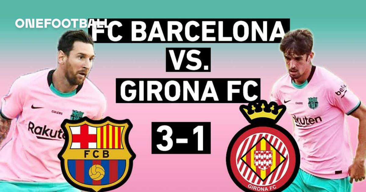 Barcelona Vs Girona 3 1 Trincao Shines And Messi Dazzles Preseason Match Review Onefootball
