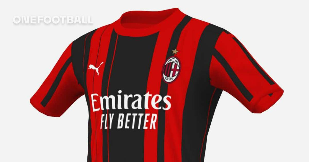 gallery four mock ups emerge of milan s possible home shirt for the 2021 22 season onefootball gallery four mock ups emerge of milan